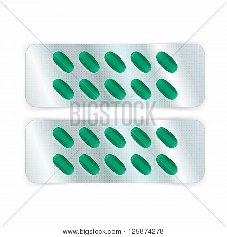 Oval Pills In Blister