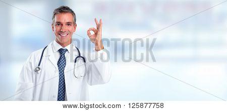 Medical doctor man.