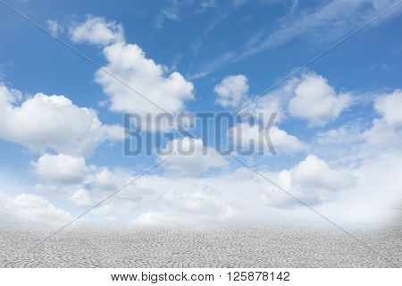 Surreal abstract landscape