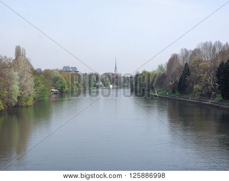 River Po In Turin