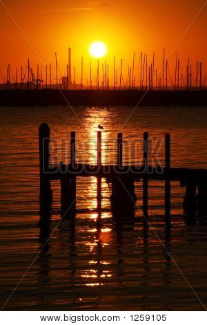 Beutiful Sunset View