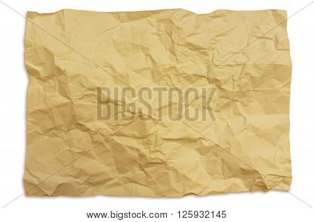 Creased Paper Texture Background