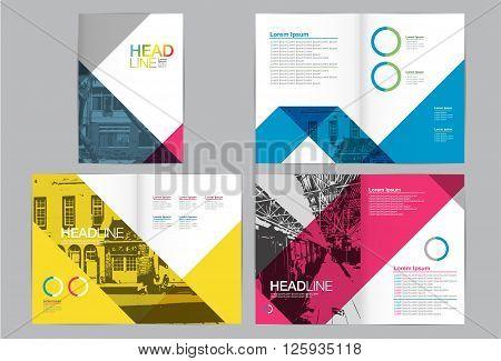 Template design LayoutBrochure Design TemplatesGeometric Abstract Modern Backgrounds