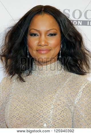 Garcelle Beauvais at the 23rd Annual Race To Erase MS Gala held at the Beverly Hilton Hotel in Beverly Hills, USA on April 15, 2016.