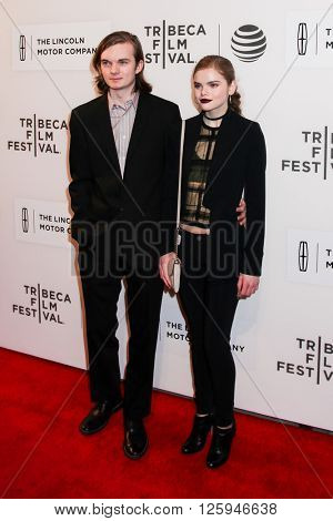 NEW YORK, NY - APRIL 16: Katherine Reis and Guest at 'All We Had' Premiere - 2016 Tribeca Film Festival at BMCC Tribeca Performing Arts Center on April 15, 2016 in New York City