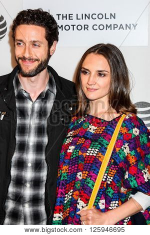 NEW YORK, NY - APRIL 16: Paulo Costanzo and Rachael Leigh Cook attdens  at 'All We Had' Premiere - 2016 Tribeca Film Festival at BMCC Tribeca Performing Arts Center on April 15, 2016 in New York City