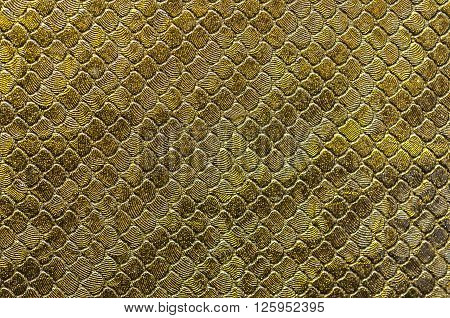 Background series : Closeup of fake leather snake skin