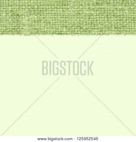 Textile tarpaulin, fabric exterior, khaki canvas, hemp material braided background