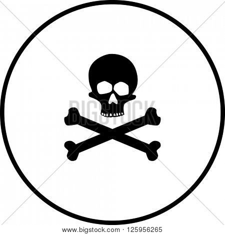 skull and crossed bones symbol