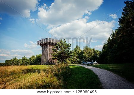 Aukstojas Hill, The Highest Point In Lithuania (293.84 M)