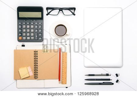 Office Tools And Tablet