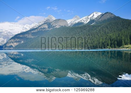 Lake Louise in Banff National park. Canada.