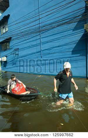 BANGKOK , THAILAND - NOVEMBER 9, 2011 : 