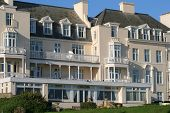 foto of guest-house  - large regency style building house hotel in england - JPG