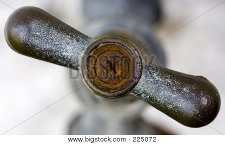 Old Rusty Tap - Shallow Depth Of Field