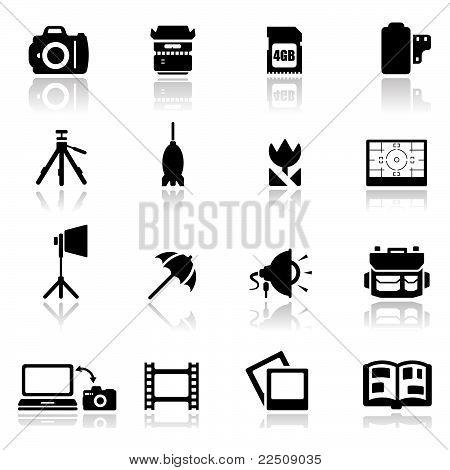 Icons Set Photography