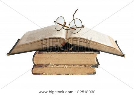 Old Books And Spectacles