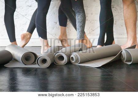 Yoga mats in