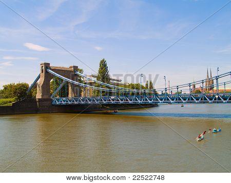 Grunwaldzki Bridge, Wroclaw, Poland