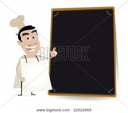 Chef Cook Sandwich Man