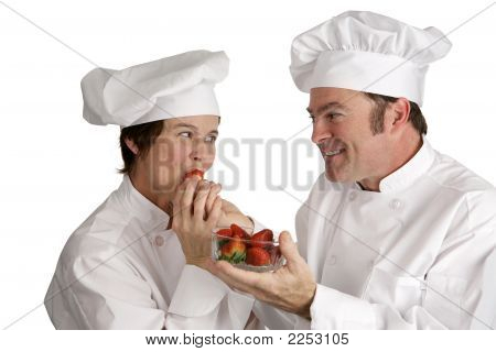 Chef Tasting Ingredients