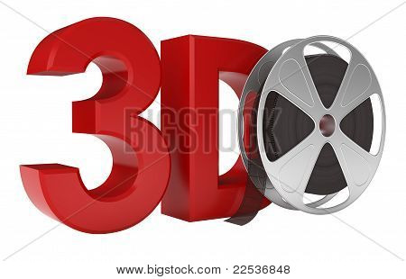 3d Movie. Include Clipping Path