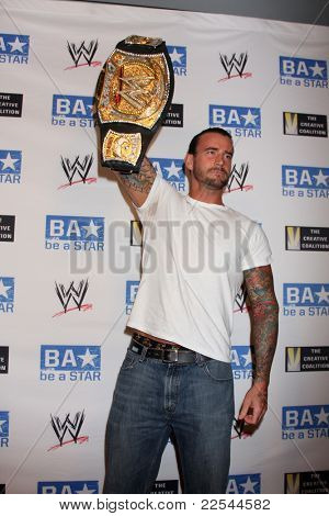 LOS ANGELES - AUG 11:  phillip jack brooks aka cm punk
