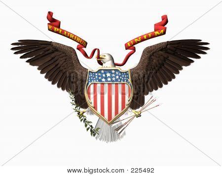 United States Seal, E Pluribus Unum.