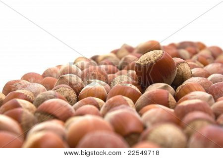 Background With Walnuts