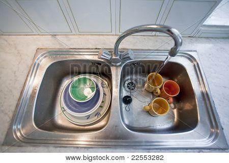 Wasch-Schüssel