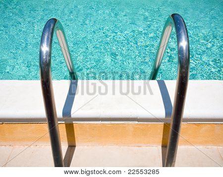 outdoor pool handle