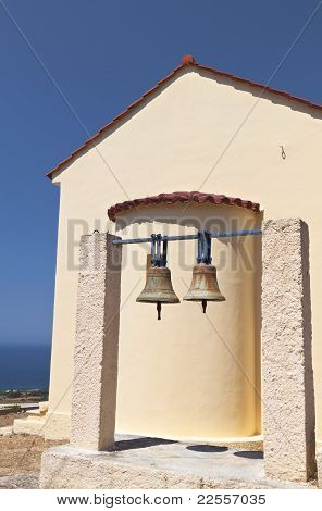 Saint Nickolas church at Lakithra village of Kefalonia island