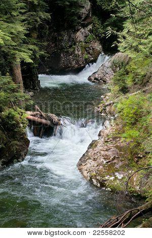 Franklin Falls, Denny Creek, Snoqualmie Forest