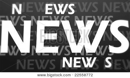 Creative image of news concept