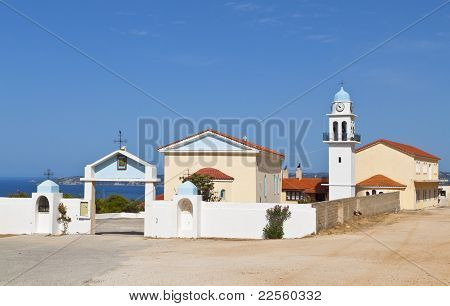 Greek monastery at Kefalonia