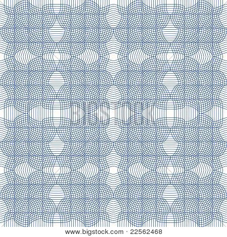 Abstract vector seamless guilloche background