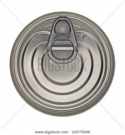 Food Tin Can Lid