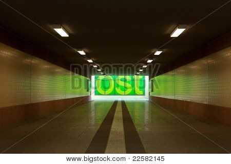 Tunnel passage