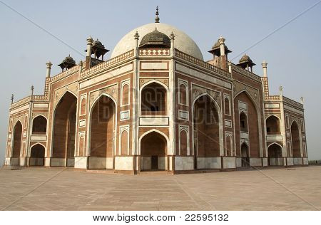 Corner View Of Humayun's Tomb
