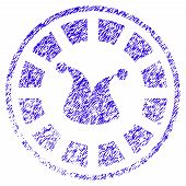 Grunge Joker Roulette Rubber Seal Stamp Watermark. Icon Symbol With Grunge Design And Dust Texture.  poster
