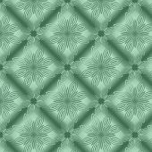 Green Metallic Regular Seamless Pattern.  Metal Foil With Pattern. Glossy Metal Surface. Shiny Metal poster