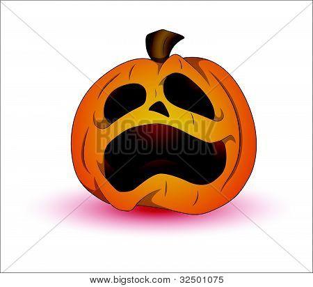 Spooky Jack O Lantern