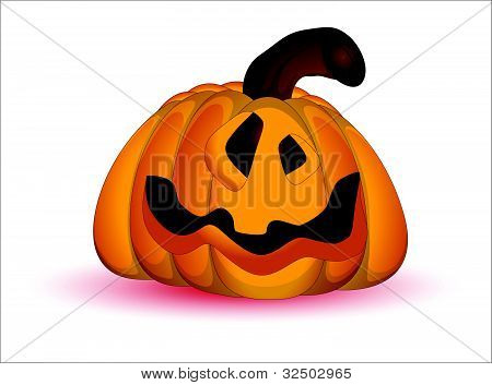 Spooky Cartoon Jack O Lantern