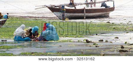 Women And Children In Zanzibar