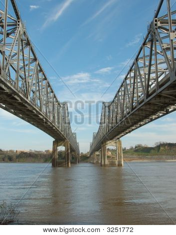 Miss. River Bridge Natchez