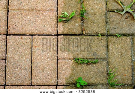 Bricks Scoured Versus Grimy