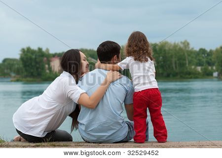 Father, Mother And Daughter
