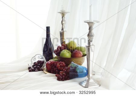 Wine And Fruit Feast