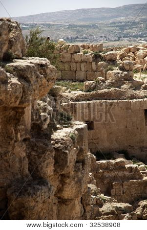 Herodium Castle Ruins