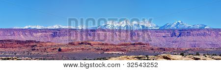 Canyonlands Mountain Panorama